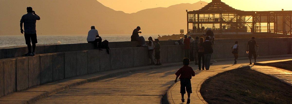 La Punta Callao am Morgen
