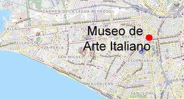 Museo de Arte Italiano Karte