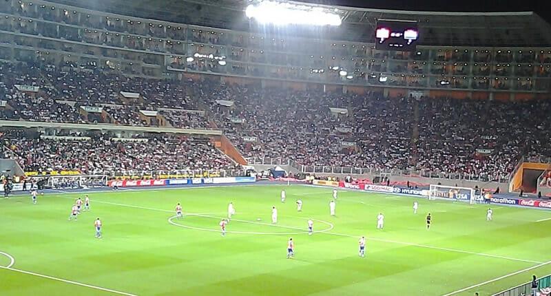Estadio Nacional Lima Peru