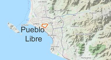 Pueblo Libre Karte
