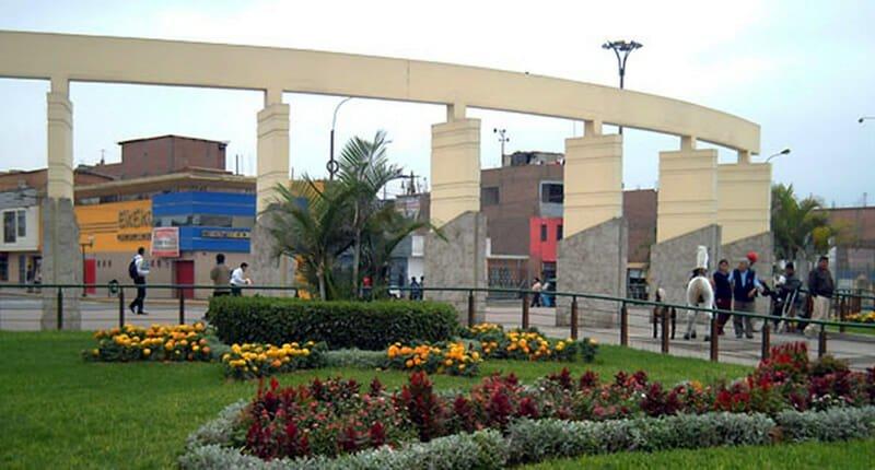 Puente Piedra Stadtteil in Lima Peru