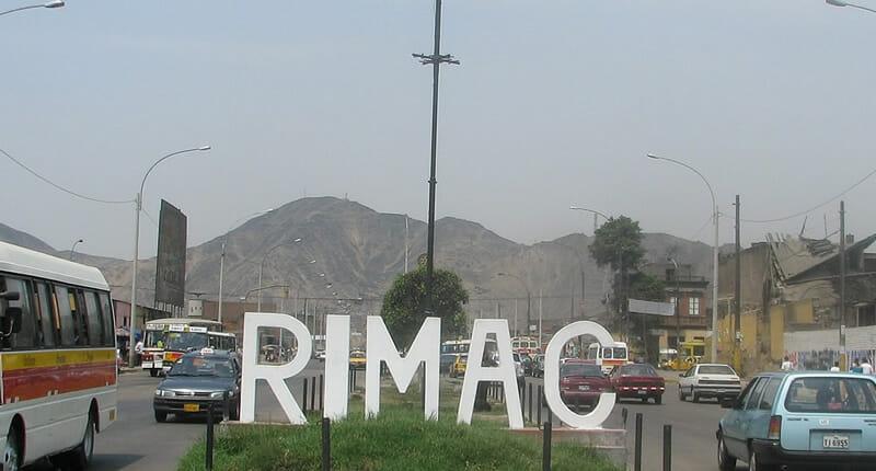 Rimac Stadtteil in Lima