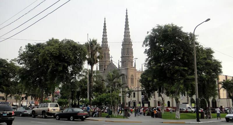 San Jose Jesus Maria Kirche
