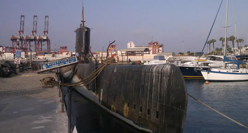 U-Boot Abtao in Callao