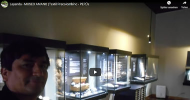 Videos Amano Museo in Lima