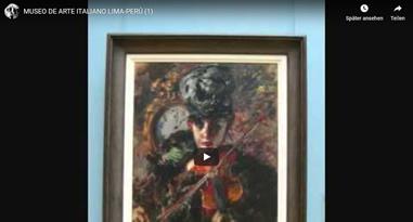 Videos Museo de Arte Italiano Lima