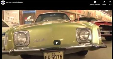 Videos Museo de Automóvil Lima Peru