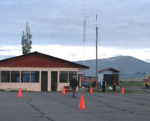 Flughafen Francisco Carlé in Jauja
