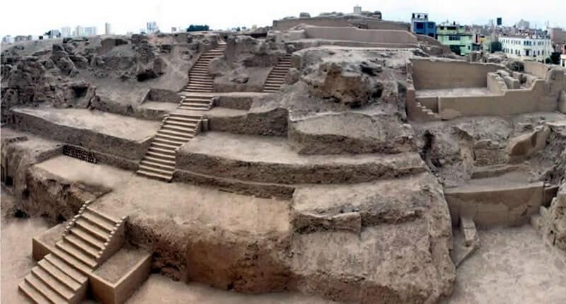 Huaca Huantille in Lima