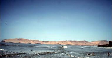 Isla San Lorenzo Callao Peru