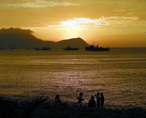 Isla San Lorenzo Peru