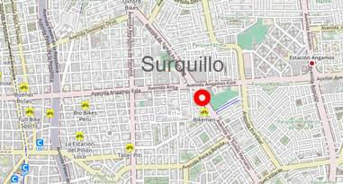 Karte Surquillo Lima Peru