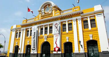 Kultur im Casa de la literatura peruana