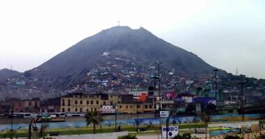 Cerro San Cristobal Lima