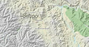 Karte Satipo