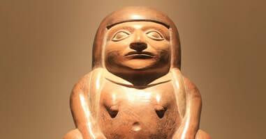 Geschichte im Larco Museum