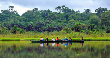 Rio Tambopata Lago Condenado