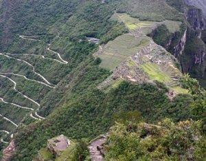 Machu Picchu Baukunst der Incas