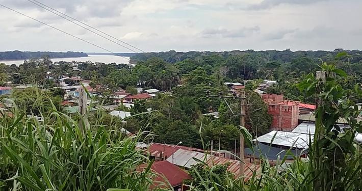 Puerto Maldonado - Blick auf Rio de Madre de Dios