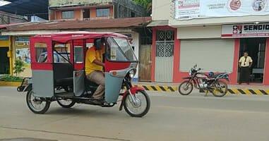 Taxi in Puerto Maldonado