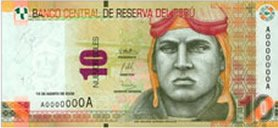 10 Soles Geldschein Peru