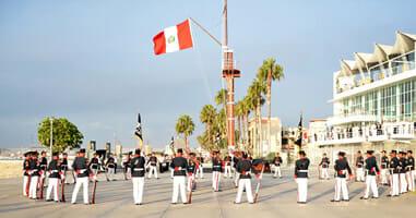Callao Parade am Hafen