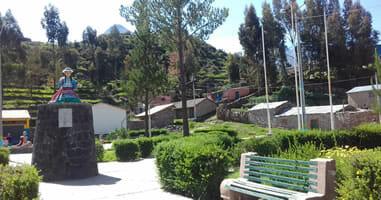 Chivay Plaza Socio Cultural Sol de Sacsayhuaman
