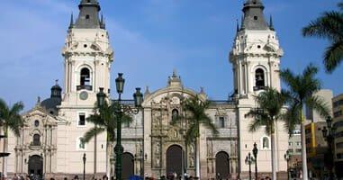 Sehenswürdigkeit Kathedrale Lima