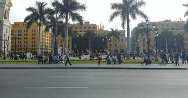 Sehenswürdigkeit in Lima: Plaza de Armas