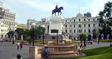 Plaza San Martin Lima Peru