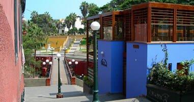Puente de los suspiros de Barranco