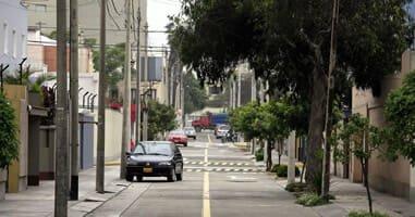 Streets of Miraflores Peru