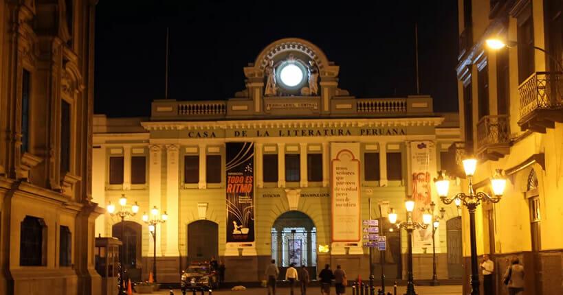 Casa de la literatura Lima Peru