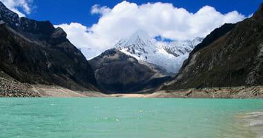 Wandern zur Paron Lagune Ancah Caraz Peru