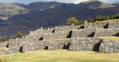 Sacsayhuamán beeindruckende Steinquader