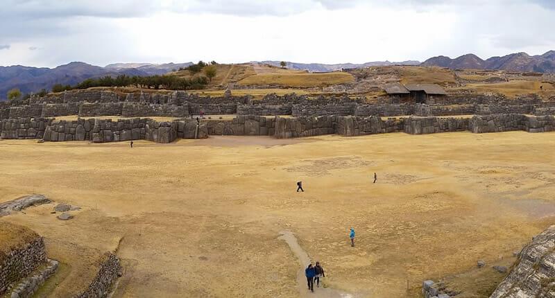 Sacsayhuamán die Festung der Inkas