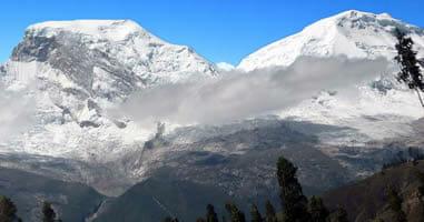 Skifahren am Huascaran