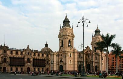 Stadtrundfahrt in Lima