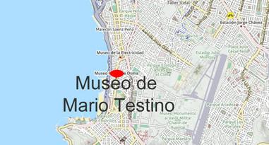 Karte Anreise Museum de Mario Testino