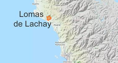 Loas de Lachay Peru Karte