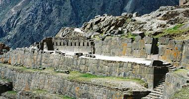 Ollantaytambo Archaeological Terassen