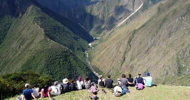 Wandern auf dem Inka-Trail