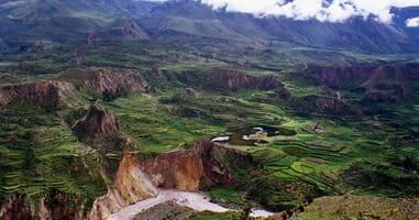 Wanderwege im Colca Tal