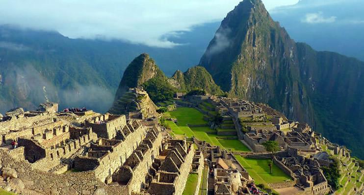 Blick auf Machu Picchu Peru
