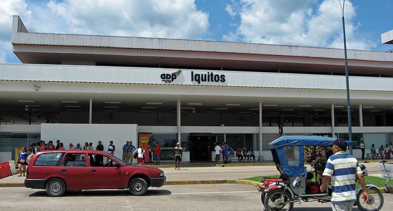 Aeropuerto Internacional Coronel FAP Francisco Secada Vignetta Iquitos