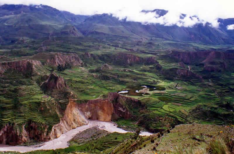 Colca Tal Valle de los Collaguas