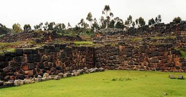 Inka Ruinen