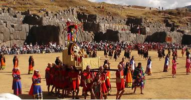Inti Raymi Sonnenfest in Cusco