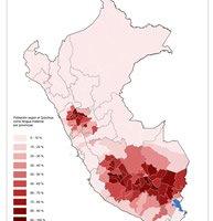 Verbreitung der Sprache in Peru