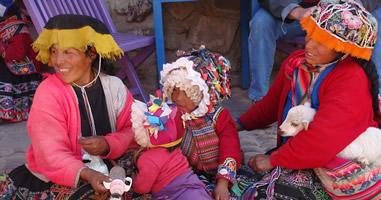 Ollantaytambo Peru Bewohner
